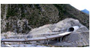 Boquilla en Túnel Los Chorros