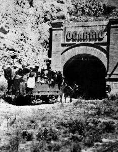 Armón Tirado por mulas; Portal Catorce