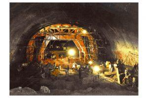 Cimbra en Túnel Los Querendes