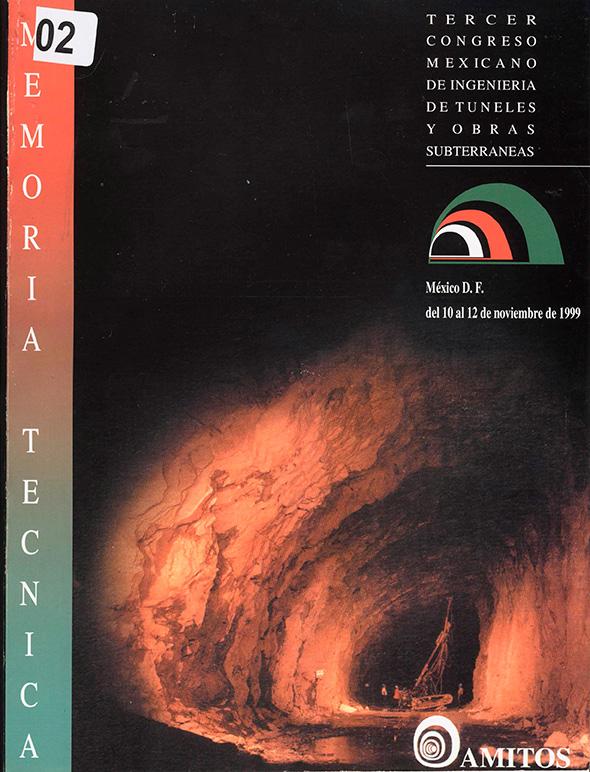 Tercer Congreso Mexicano de Ingeniería de túneles y obras subterráneas